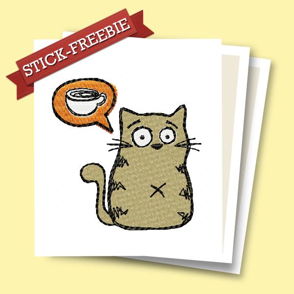 Freebie Kaffee-Katze