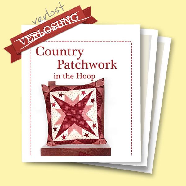 Verlosung Stickdatei Country Patchwork in the Hoop von Stickbaer